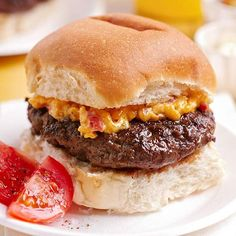 House-Made Burger with Pimento Cheese