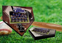 Use small format sublimation to turn basic compatible blanks into beautiful awards, display pieces or artwork! Check out this cool memento of a winning softball season!