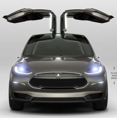 """Tesla Model X - """"Un-Killing"""" the Electric Car."""