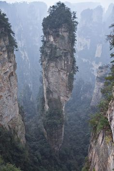 Hunan, China This is just so beautiful. Must go here.