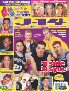 J14 - I loved this magazine and NSYNC!