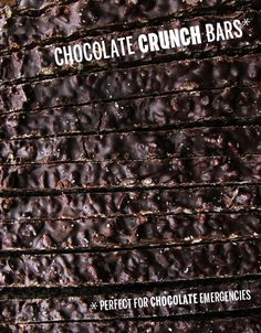 Crunch Bars // take a megabite