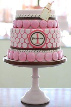 First birthday cake.