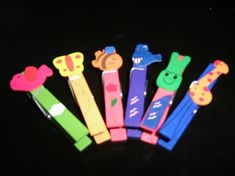 Clothespin crafts for kids!