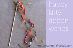 #ROAKDIY kitty wand