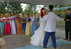 Seriously the BEST Disney Wedding We Have EVER Seen | The Knot Blog – Wedding Dresses, Shoes, & Hairstyle News & Ideas