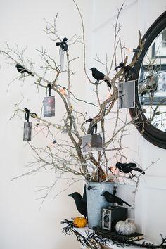 An easy to make #Halloween tree.