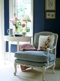 Chair in Guest Bedroom