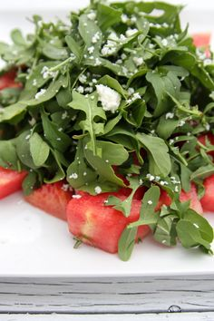 arugula watermelon salad recipe