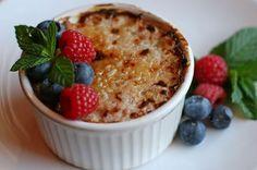 Oatmeal Creme Brulee Recipe by ELAINEHN via @SparkPeople
