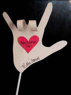Cute Valentines day craft