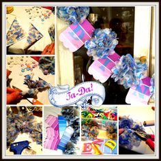 The Craft Fairy | how to make a bunting using napkins and paint chips