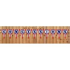 Free Printable Concessions Banner