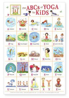 abc, school, yoga poses, book, kid yoga, alphabet, yogakid, yoga kids, posters