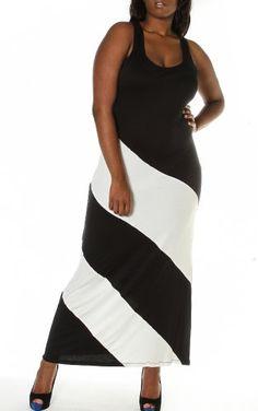 size maxi, maxi dresses, fashion, size cloth, plus size, size beauti, maxis, black white, size bbw