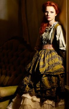 B. before she discovered her magic and went all evil. Said the previous pinner. I say Swedish peasant fashion by Ewa i Walla 2009