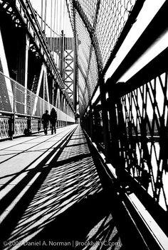 white lights, art photography, brooklyn photography, shadow, new york city, bridges, black, york citi, bridge photography