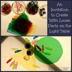 And Next Comes L: Monsters & Robots: An Invitation to Create With Loose Parts on the Light Table