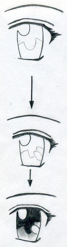 How To Draw Manga Eyes <----ooooh this is useful <3