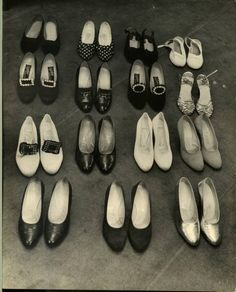 Shoes by Nina Leen