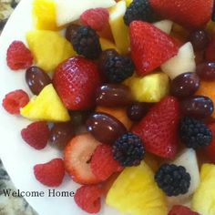 ♥ FRUIT DIPS