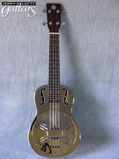 Polished Nickel Resonator Uke #ukulele