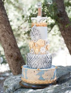 The Game of Thrones Wedding Cake