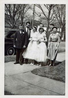 Wedding party c.1950s