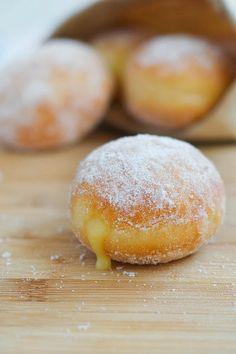 Meyer Lemon Doughnuts - Soft in color but dynamic in taste!