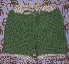 Little Fire Crochet Shorties by tangledskeins, via Flickr