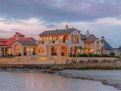 Striking Mediterranean Custom home designed by Robert Dame