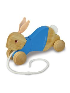 Peter Rabbit Wood Pull Toy by Kids Preferred on Gilt.com