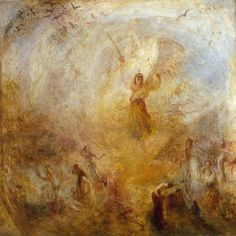 The Angel Standing in the Sun, 1846. ~ JMW Turner