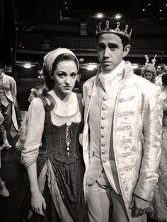 Santino Fontana and Laura Osnes, Cinderella.