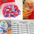 This resource contains three discovery-bottle-type format  activities for reducing fractions, changing improper fractions to mixed numbers, and chan...