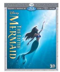 The Little Mermaid is being released on Blu-Ray DVD. This post has the best deals and a coupon to save $7