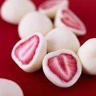 Mmmm.  ~Put halved strawberries in an ice cube tray.  ~Mix 2 scoops Vi Shake Mix and 1C plain yogurt  ~Scoop yogurt/shake mix into the ice cube tray with each strawberry.   ~ Freeze overnight.     ENJOY!!    www.fit4diamonds.com for Vi Shake
