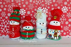 Gina Rae Miller Photography Christmas Crafts-Sock Snowmen