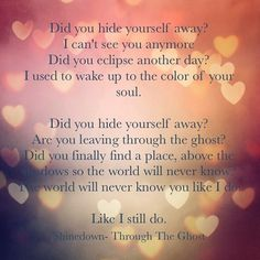 Shinedown- Through the Ghost