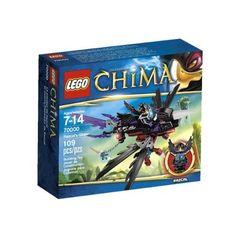 Amazon.com: LEGO Chima Razcal Glider 70000: Toys & Games