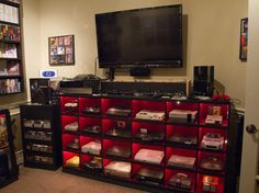 A Little Bit On The Epic #Gaming Room Side: This perfect gamer cave belongs to16bitghost