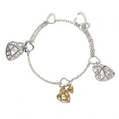 Links Of London Bracelet Flutter Silver 18ct Gold