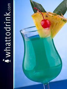 Blue Hawaiian Drink on Pinterest | Hawaiian Drinks, Hawaiian Party ...