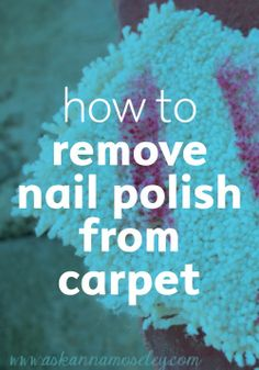 Don't cry over spilled polish. Clean it up with this clever DIY.