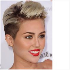 Miley. this is a cute cut.