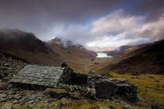 a remote, and ruined highland bothy ... beautiful, haunting image by Steve Boote via Flickr