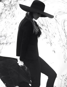 fashion, david bellemer, saint laurent, style, malgosia bela, magazines, spring 2013, muse magazin, hat