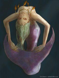 Mermaid twirl. I drew this in Art Rage on my iPad.