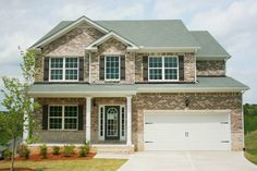 One of 27 new home models from Peachtree Communities in Canton, GA. Near Atlanta, GA. Base prices vary by model and start at $132,000.