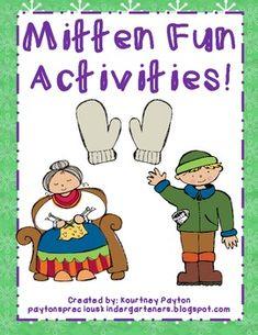 Activities to go along with Jan Brett's The Mitten